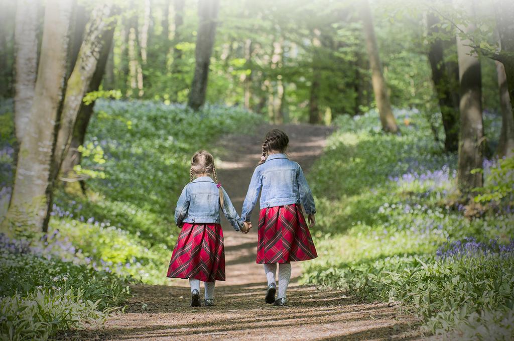 Micheal Cusack – Walking with big sister