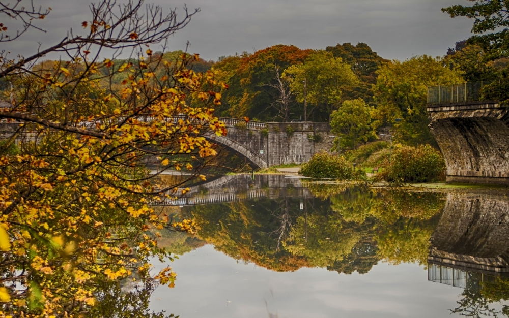 Autumn at the Weir